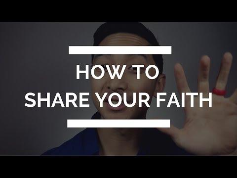 How to Share Your Faith for Beginners | Sharing Your Faith | Christian Youtuber