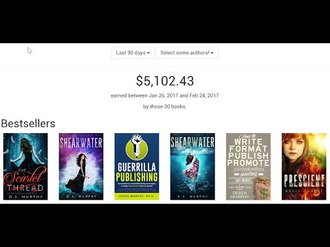 [Case Study] $5,102.43 in 30 days with Kindle Publishing