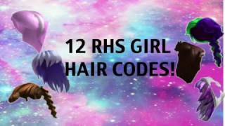 Rhs Girl Outfit Hair Codes Roblox Highschool Travellers Of Roblox