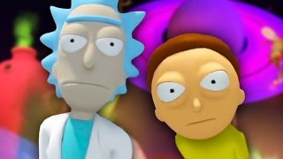 THERE'S ONLY ONE WAY OUT MORTY | Rick And Morty VR #2 (HTC Vive Virtual Reality)