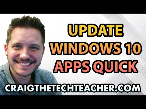How To Quickly Update Windows 10 Apps