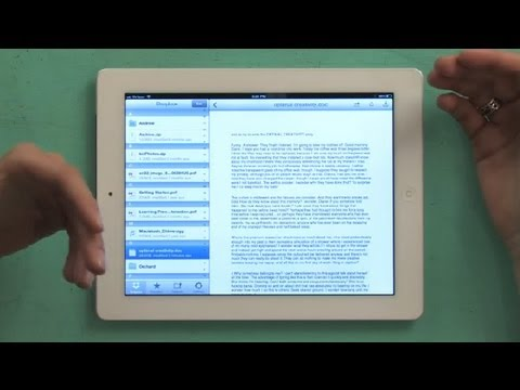 How to Sync Documents on Multiple iPads for Business : iPad Tips