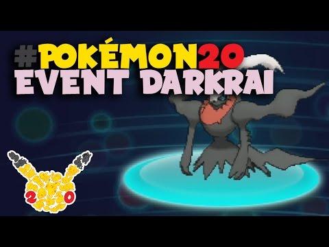#Pokemon20 - Event Darkrai - Pokemon X/Y/OR/AS