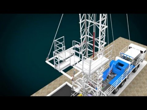 petrom omv oil rig mobile platform