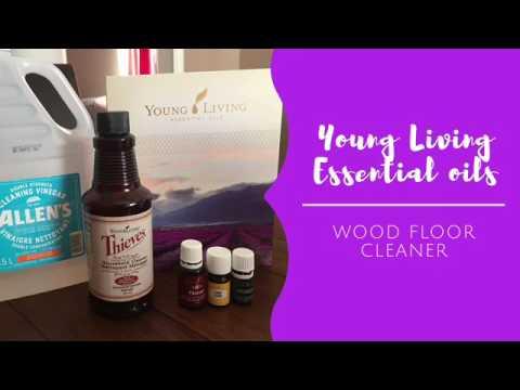 Young Living Essential Oils Hardwood Floor Cleaner