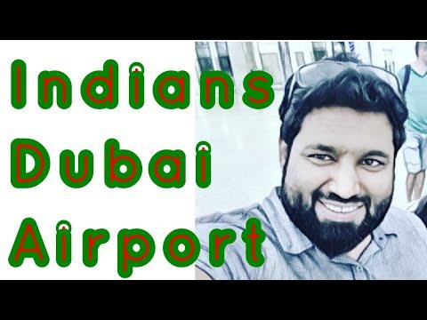 My Indian Friends At Dubai Airport | My Job in Dubai