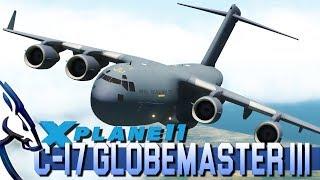 X-Plane 11 / C-17 Humanitarian Mission - Live Stream - The