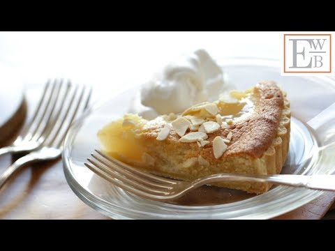 Beth's Pear Almond Tart | ENTERTAINING WITH BETH