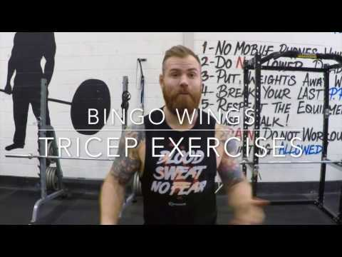 Bingo Wings Workout