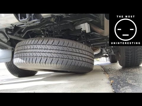 DIY: Removing your spare on a 2016 Toyota 4Runner