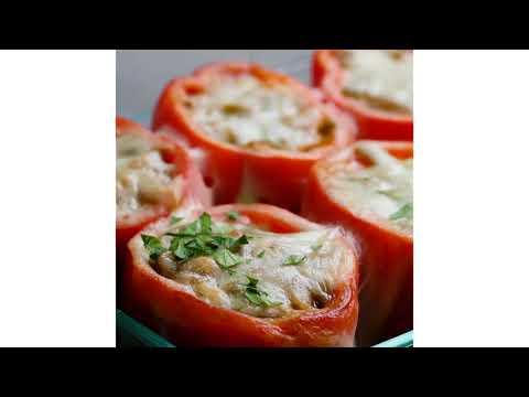 Cheesesteak-Stuffed Peppers