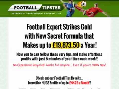 Footballtipster.co.uk - Insane Epc's, Rebills And Ultra Low Refunds! Review