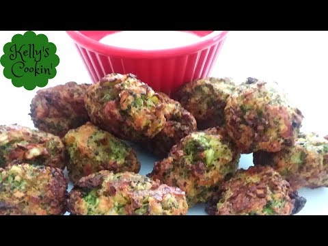 Homemade Broccoli Tots Recipe In The Air Fryer- Cook's Essentials