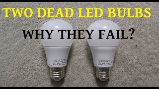 Download Two failed LED bulbs for teardown to determine the cause Video