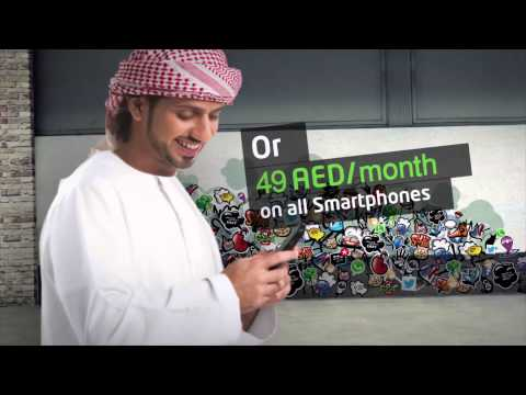 Etisalat's Unlimited Social Data Package