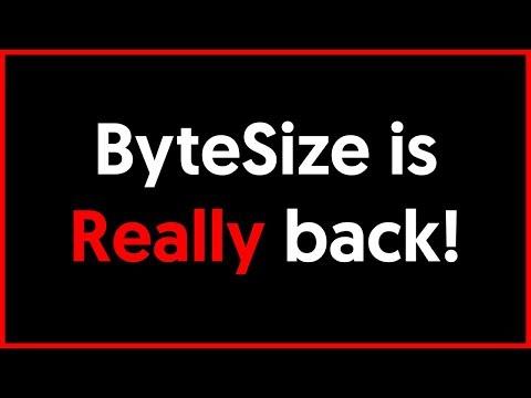 ByteSize is Really Back