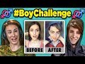 Girls Turn Into Boys (Musical.lytiktok Compilation) - Adults React To boychallenge mp3