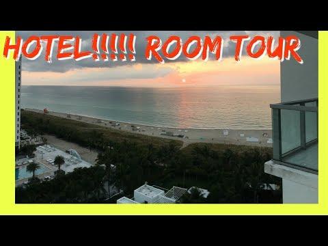 HOTEL ROOM TOUR   MIAMI