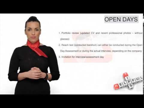 Cabin Crew Job Interview Tips (Open & Assessment Days)