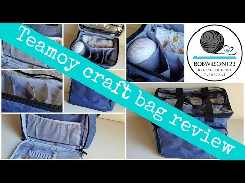 Review on my Teamoy Craft bag
