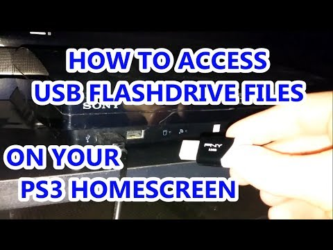 How To Access USB Flashdrive Files on PS3 (Play Station 3)