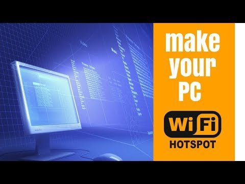 Turn PC into Wifi Hotspot using cmd only (simplified)