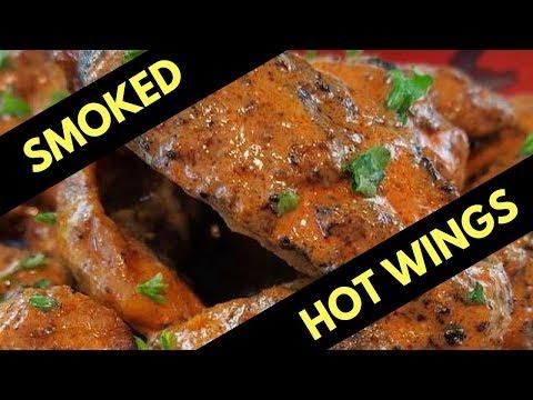 Smoked Hot Wings (Grilled + Amazen Pellet Smoker)
