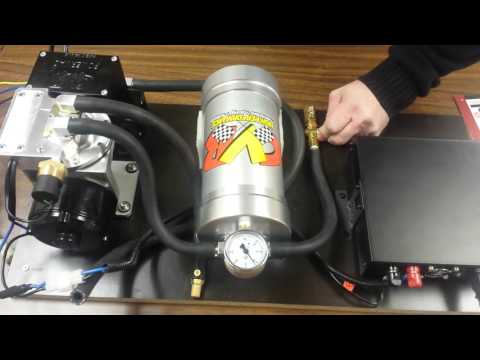 Demo of theCVR  VP555 and VP665 brake vacuum pumps.