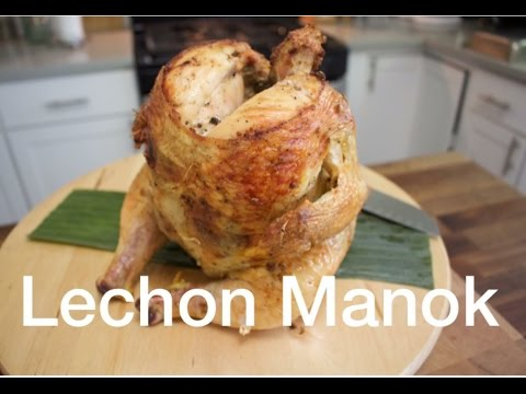 (NILASING AT PINAUPONG) LECHON MANOK (BEER CAN ROASTED CHICKEN)