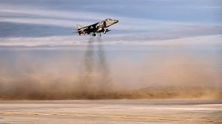 AV-8B Harrier Vertical Landing & Short Takeoff. (MCAS Yuma, 2014)