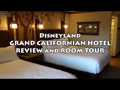 Disneyland - Grand Californian Hotel Review + Room Tour