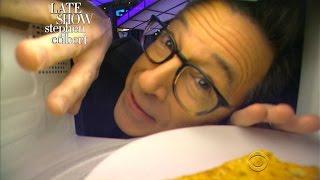 Stephen Reaches Out To President Obama Via Microwave