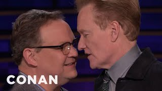 Conan & Andy Review Lady Gaga & Bradley Cooper's Oscars Performance