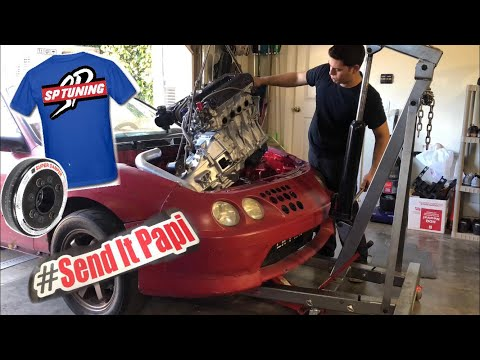 629HP Integra Gets its Engine ! New on Shirts/Stickers!!