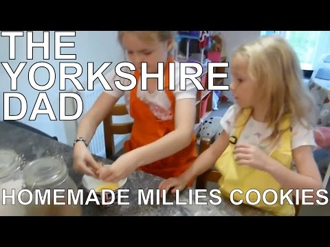 MAKING HOMEMADE MILLIES COOKIES