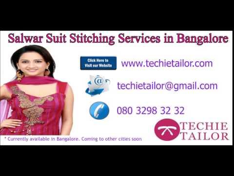 Salwar suit stitching services bangalore   churidar neck designs, TechieTailor