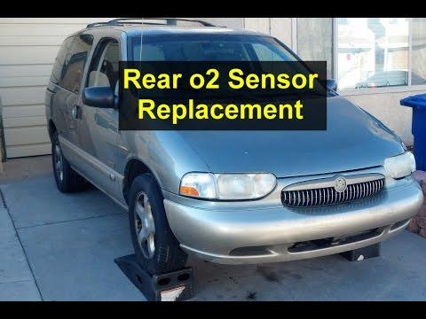 Rear, down stream o2 sensor replacement on Mercury Villager, Nissan Quest - VOTD
