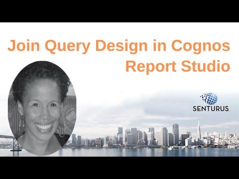 Join Query Design in Cognos Report Studio