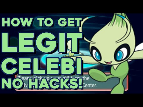 How To Get a Free Celebi in Pokemon Omega Ruby and Alpha Sapphire! No Hacks! 100% Legit!