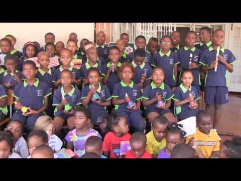 Greystone Montessori and Montessori Zimbabwe Sing for World Peace