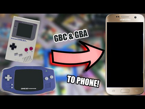 GBC/GBA GAMES ON MOBILE TUTORIAL! (NO PC!) (ANDROID) (2016)