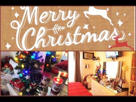 Christmas Bedroom Tour | 2016