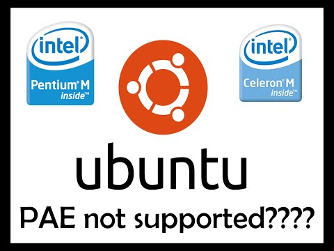 How to install Ubuntu 12.04/14.04 on a non-PAE CPU