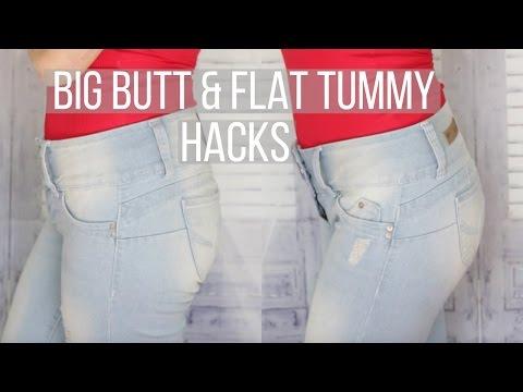 HOW TO: BIGGER BOOTY & FLAT TUMMY HACKS | Solange Nicole