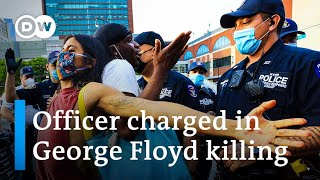 Protests demanding justice for George Floyd spread across US   DW News