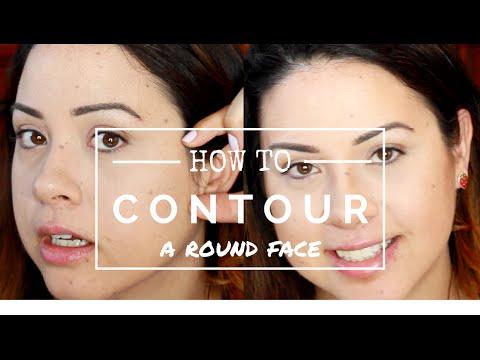 How to Contour a Round Face | Samantha Ebreo