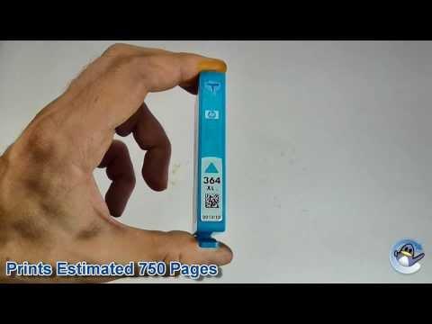 Inside HP 364XL Cyan (CB323EE) Vivera Ink Cartridge
