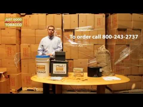 Just Good Tobacco Storage -  To order call 800-243-2737