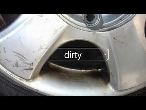 How to clean rims/alloy rims at home easy and cheap