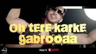 Sat Rang Da Dupatta (Lyrical Video) | Gitaz Bindrakhia Feat. Bunty Bains | Desi Crew | Speed Records